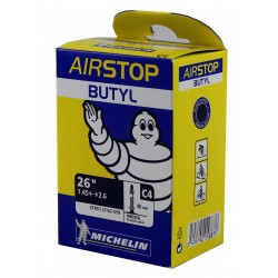 Chambre à air MICHELIN AIRSTOP C4 Butyl Presta 40mm