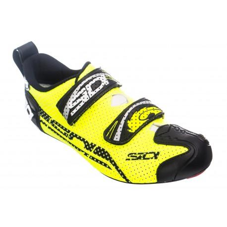 SIDI T4 AIR Shoes Neon Yellow Black