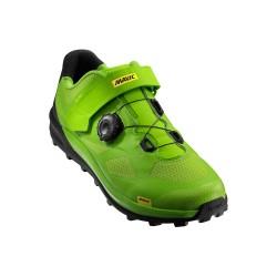 MAVIC XA Pro Shoes Green/Black
