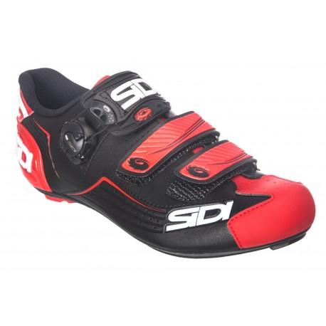 SIDI Alba Shoes Black/Red 2018