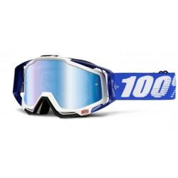 100% Racecraft Goggles Cobalt Blue/White