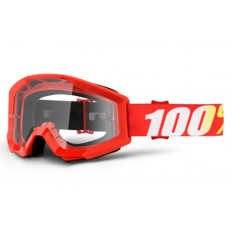 100% Strata Goggles Furnace Red