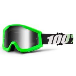 100% Strata Goggles Arkon Neon Green