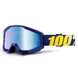 100% Strata Goggles Hope Blue