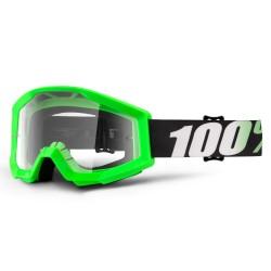100% Strata Goggles Arkan Neon Green
