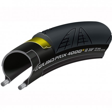 CONTINENTAL GRAND PRIX 4000S II Tyre 700x25c Folding Black