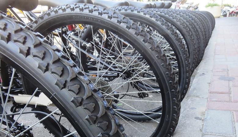 Comparison Bikes tyres